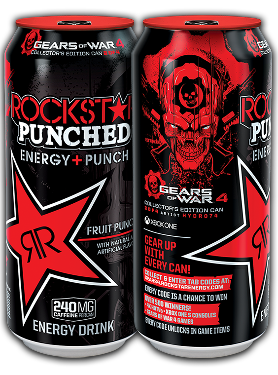 Rockstar energy drink png. Gear up with every