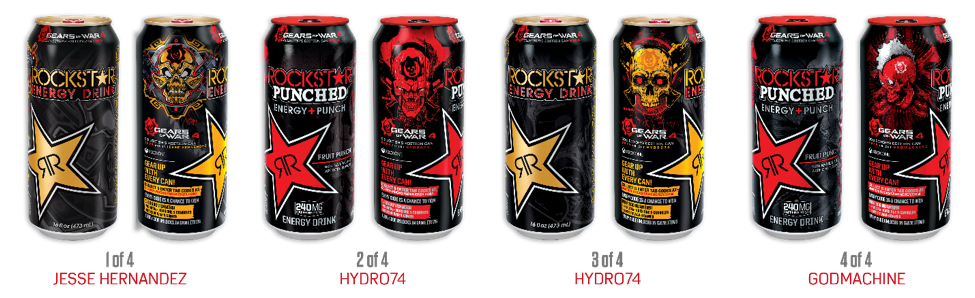 Rockstar energy png. Drink launches largest game