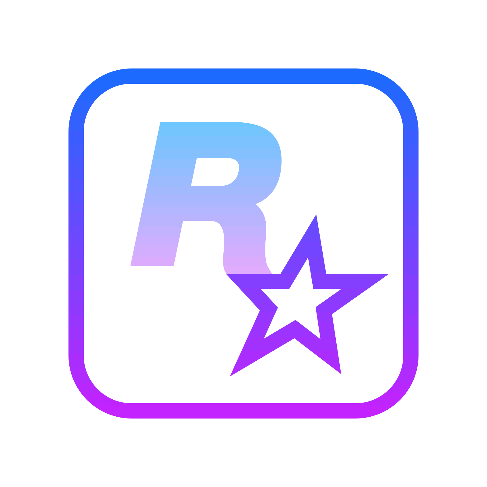 Rockstar games logo png. Icon free download and