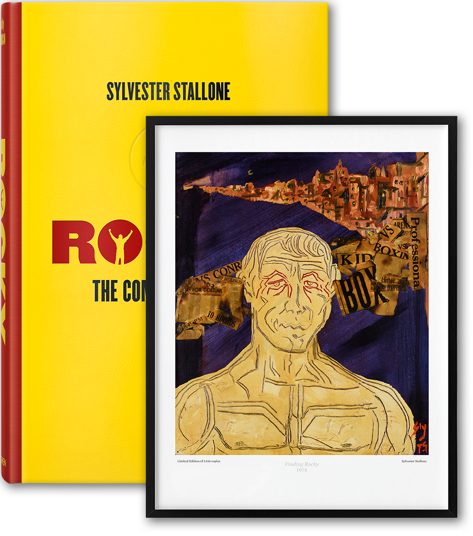 The complete films limited. Rocky drawing original svg black and white
