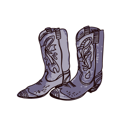 rocky drawing boot
