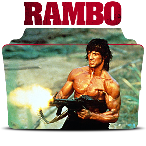 Rocky drawing john rambo. First blood action film