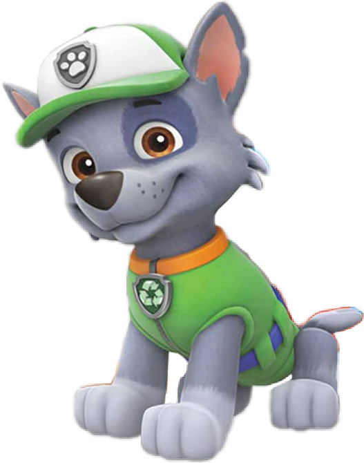 Rocky paw patrol png. Sticker by bruna