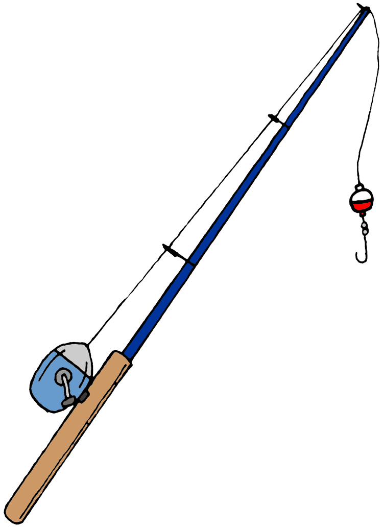 Rod clipart sketch. Free cartoon fishing pole