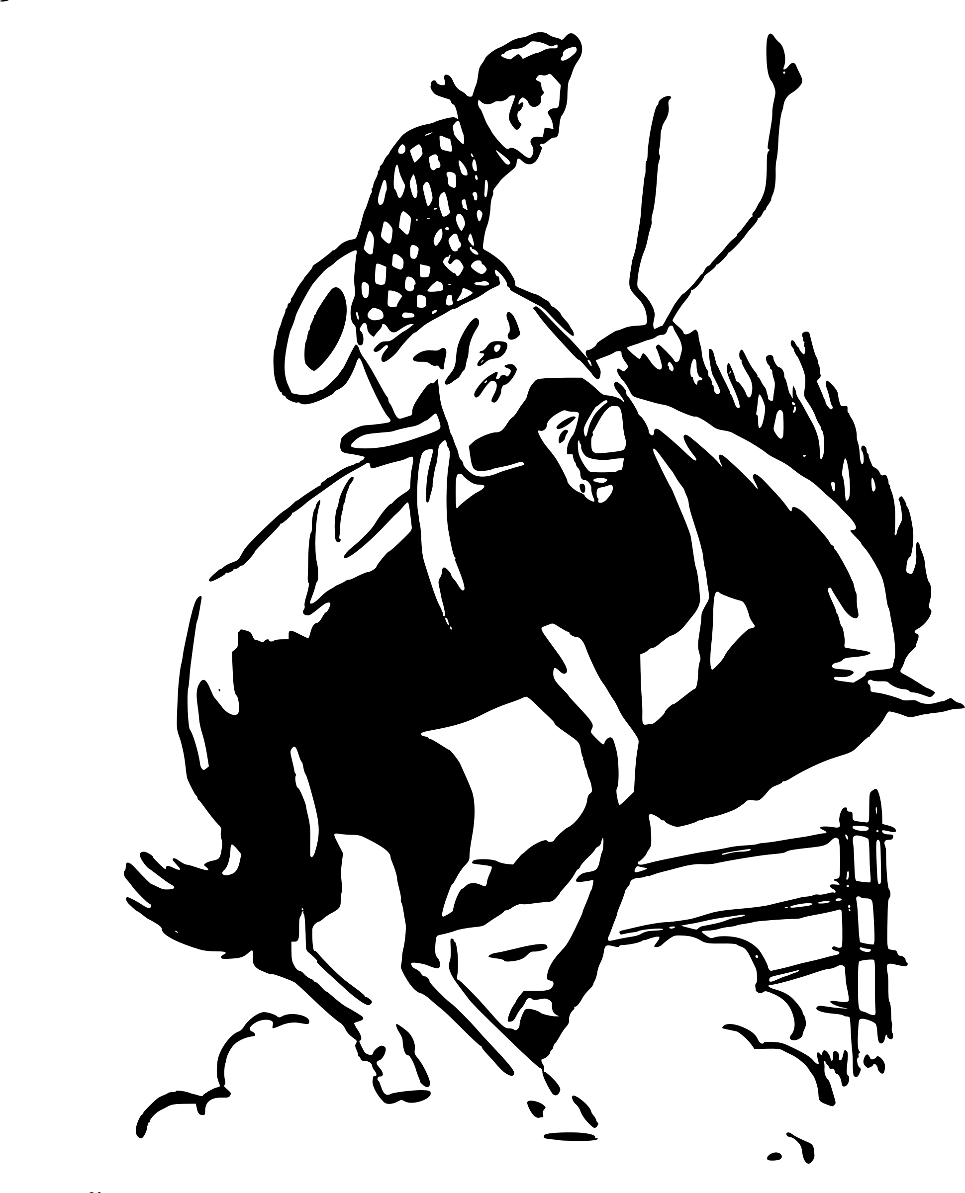 Cowboy transparent png stickpng. Western clipart rodeo png free