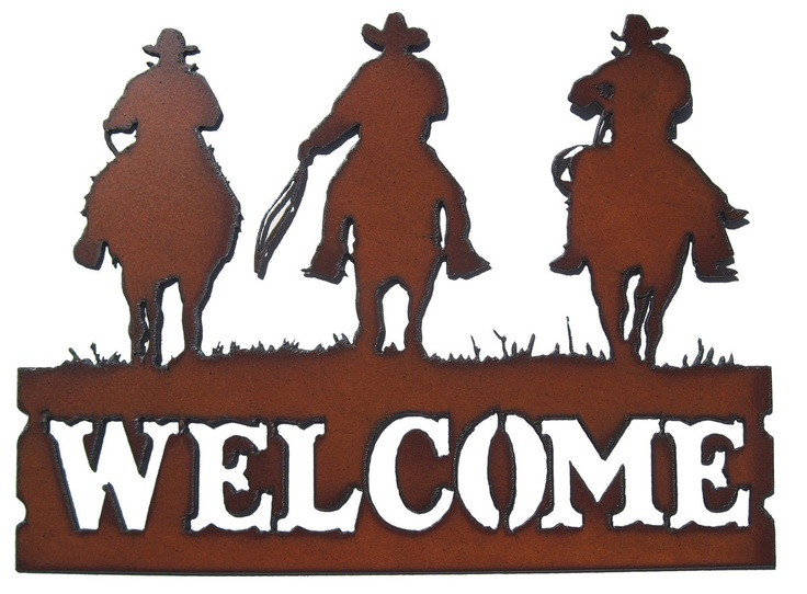 Best silhouette images on. Rodeo clipart western welcome banner black and white