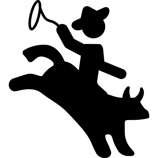 Rodeo svg icon. Png