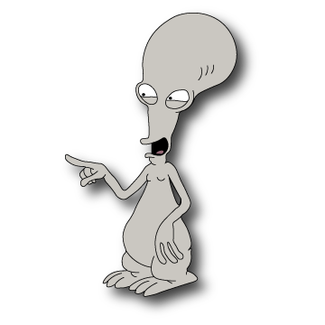 Roger american dad png. From by domejohnny on
