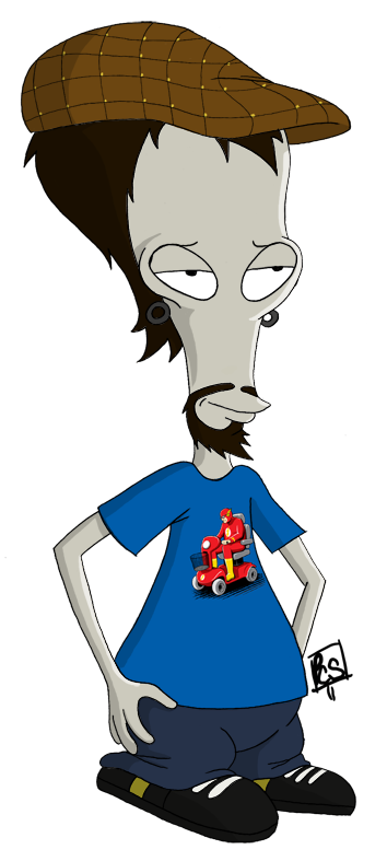american dad roger png
