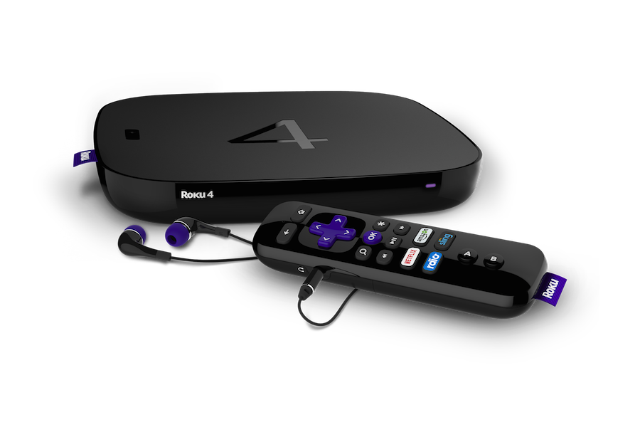 Roku 4 png. Streaming your way back