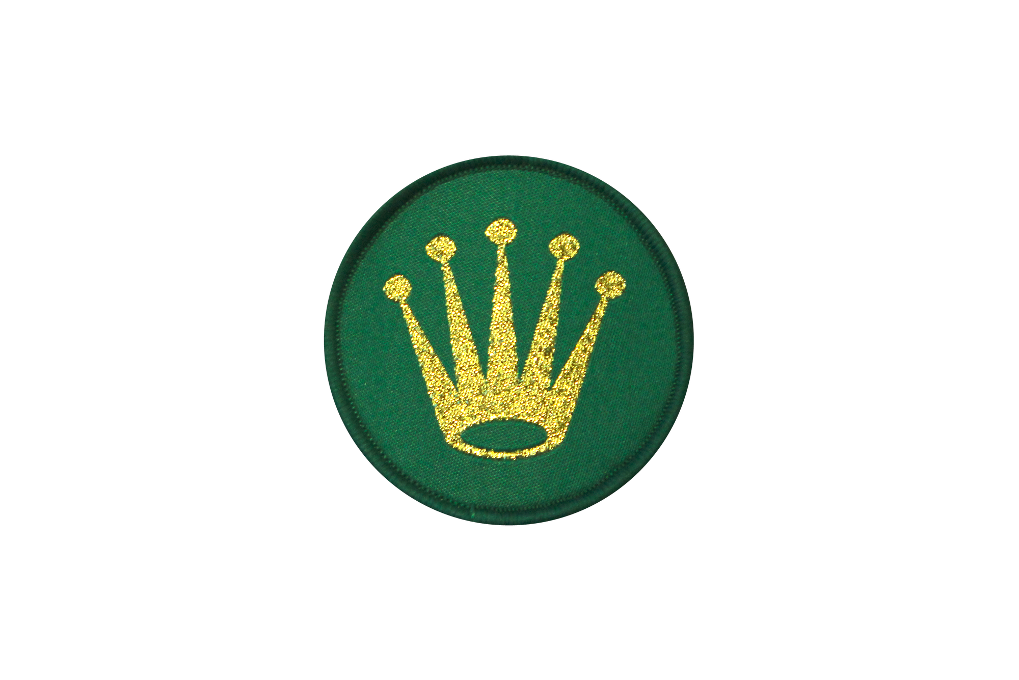 Rolex crown png. Embroidered textile patch kellotarvike