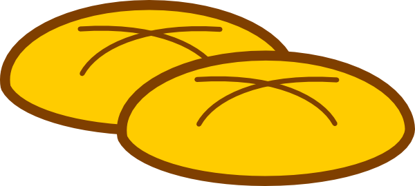 Rolling clipart bakery. Rolls holy bread free