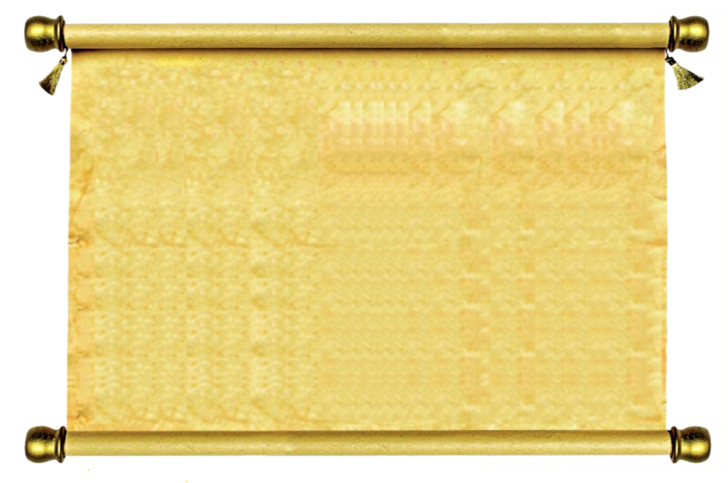 Drawing scrolls old letter. Ancient roll png transparent