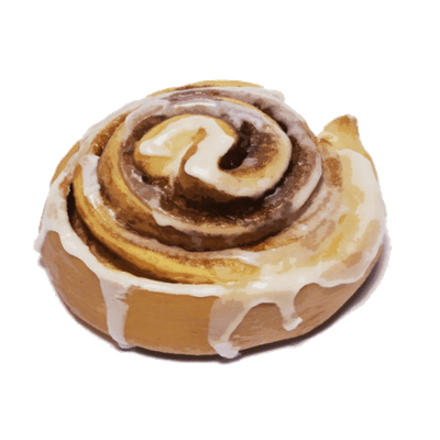 Cinnamon roll clipart cinnamon toast. Transparent png stickpng