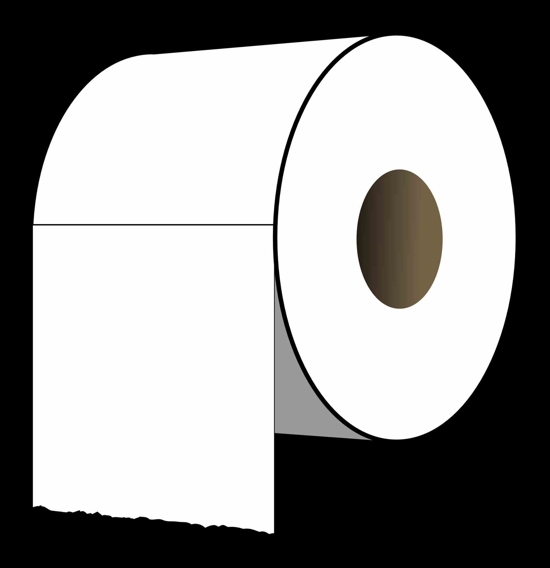 Roll clipart transparent background. Lovely idea toilet paper
