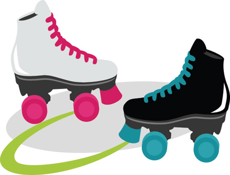 Roller skates clipart cool. Skate cilpart unusual inspiration