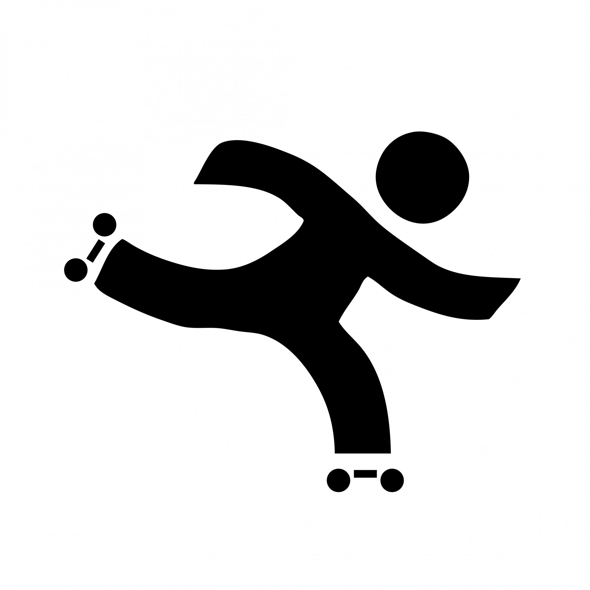 Skating clipart. Roller free stock photo