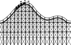 roller coaster clipart swirly