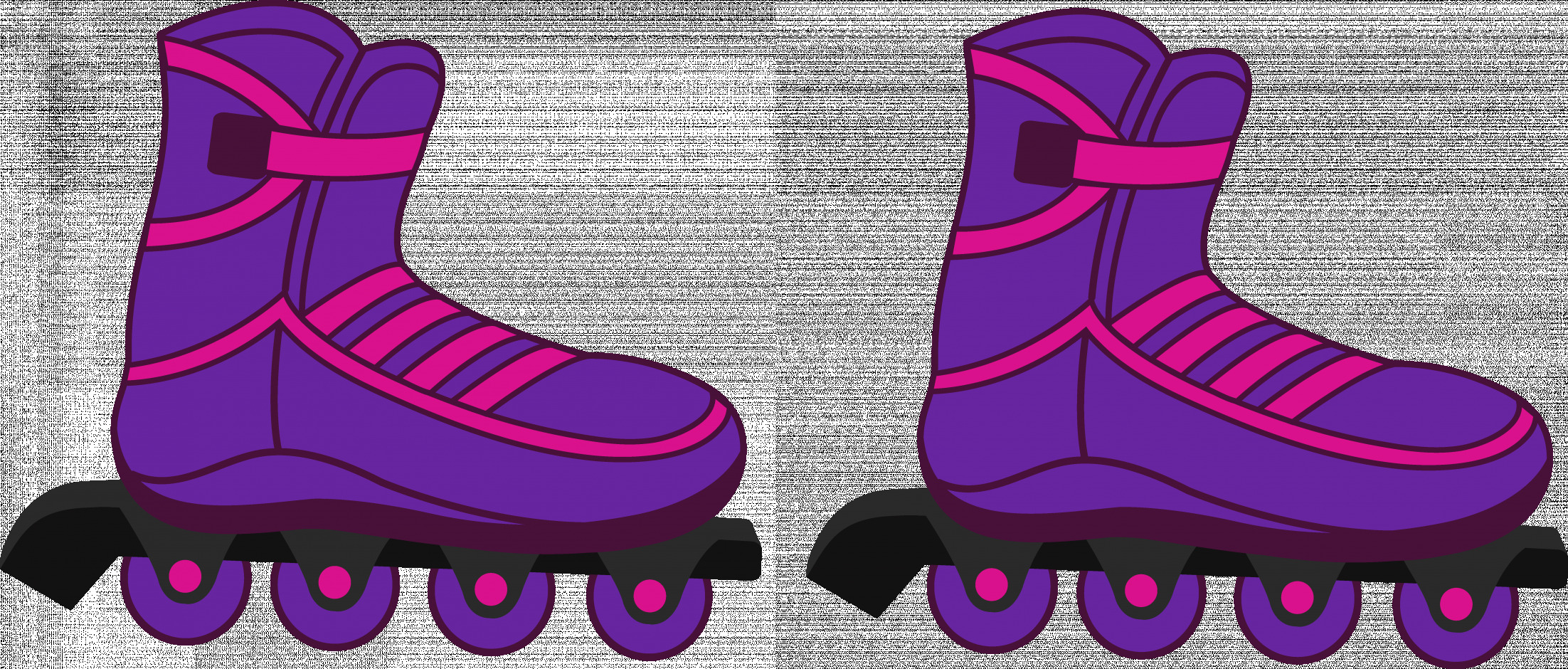 Roller skates clipart colorful. Latest of skate clip