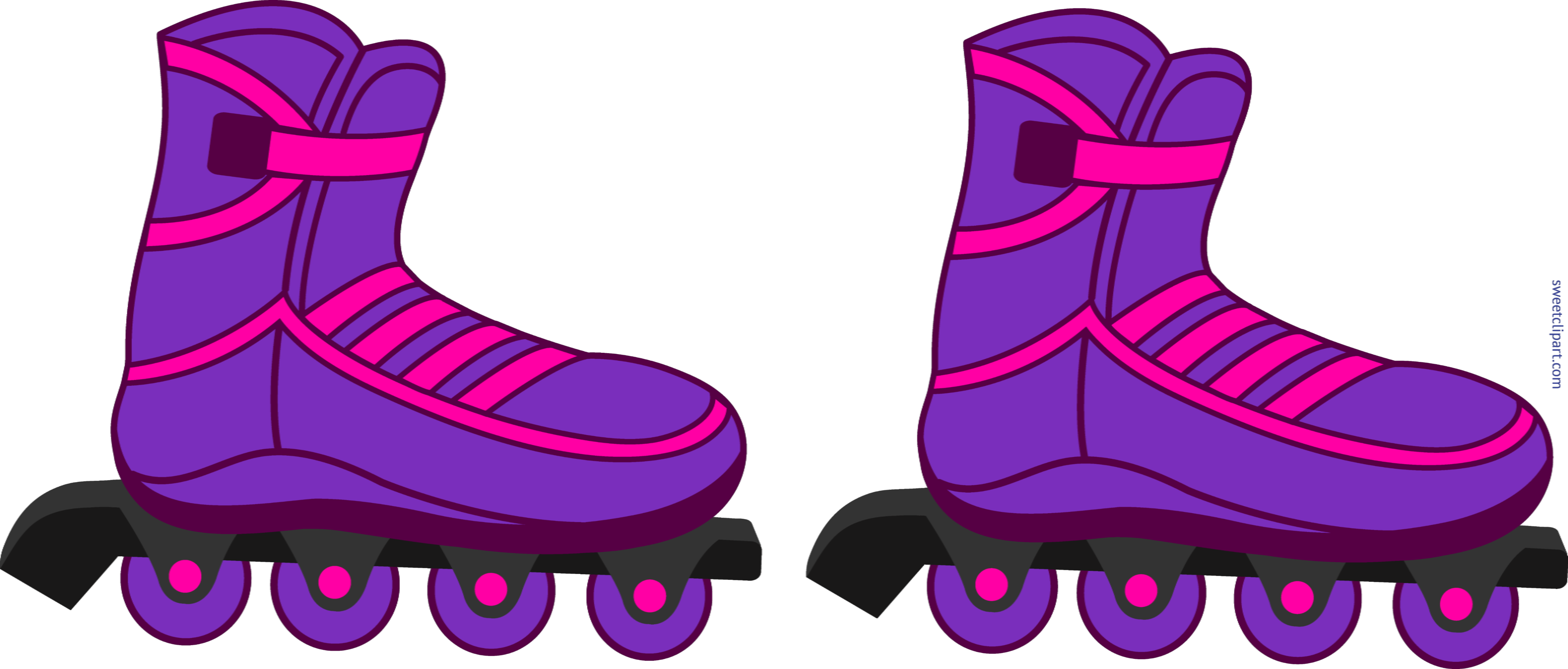 Roller skates clipart two kid. Inline inadinaofset com