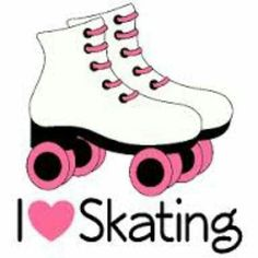 Roller skates clipart cool. Pin printable skate stencil