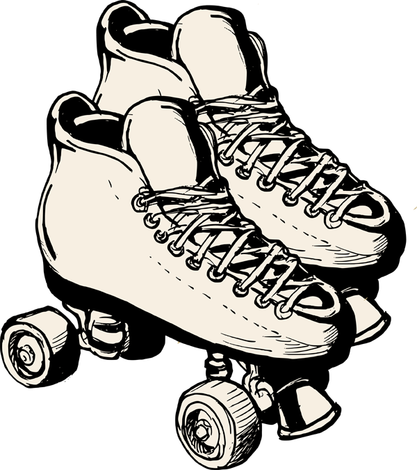 Free roller picture download. Skates clipart clip freeuse