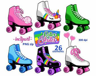 Roller skates clipart roller disco. Printable skating gallery by
