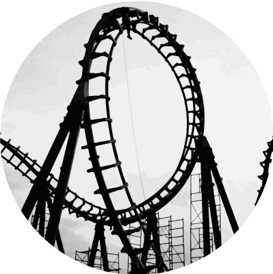 Free png images dlpng. Rollercoaster clipart banner black and white