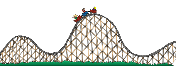 roller coaster svg. Rollercoaster clipart hill graphic transparent library