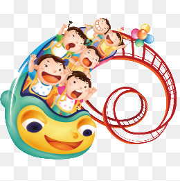 Roller coaster png vectors. Rollercoaster clipart vector freeuse library