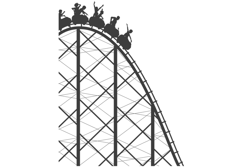Rollercoaster drawing. Roller coaster png transparent