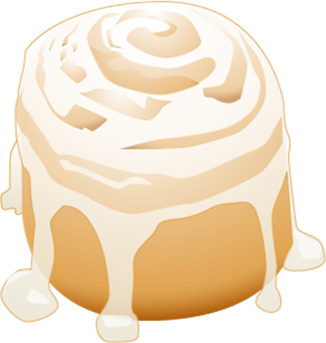 Cinnamon roll clipart drawing. Free cliparts download clip