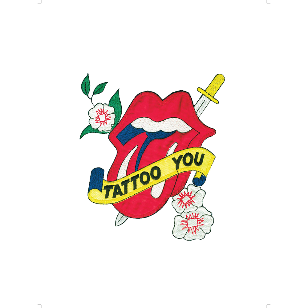 Tattoo you lithograph the. Rolling stones tongue png clip art freeuse