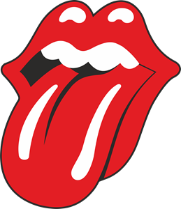 Image. Rolling stones tongue png black and white download