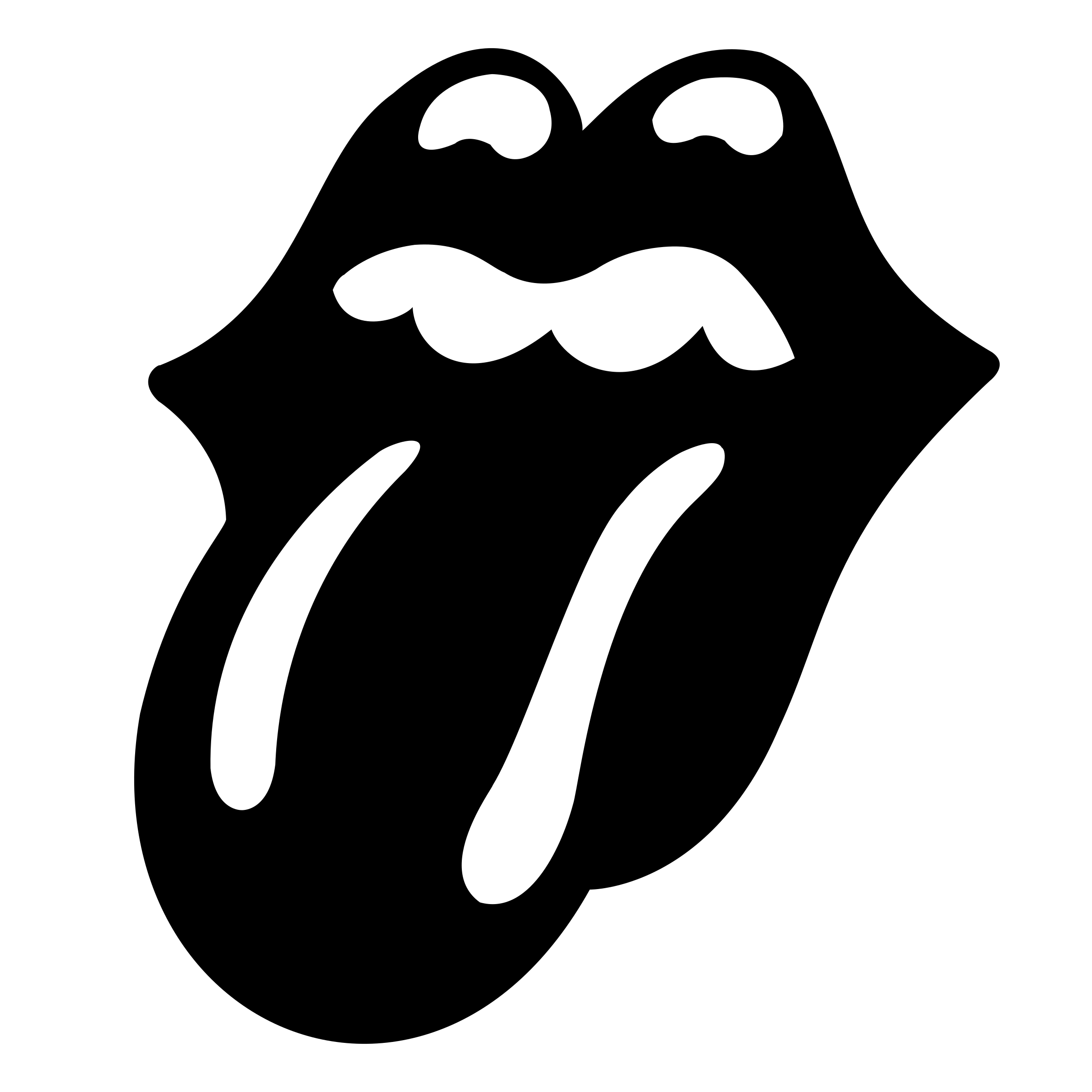 Mouth svg tongue. The rolling stones logo