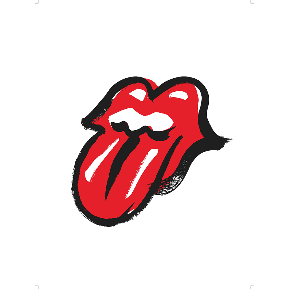 Rolling stones tongue png. No filter lithograph the