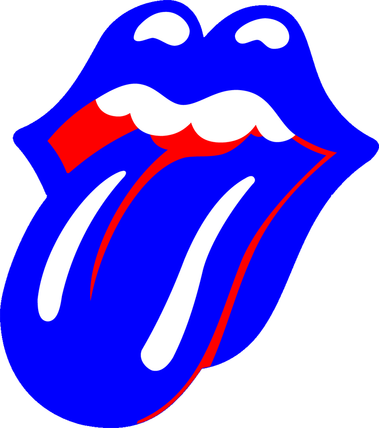 Make yourself blue lonesome. Rolling stones tongue png vector freeuse download