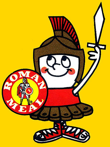 Roman clipart bread. Meal logo jim flickr