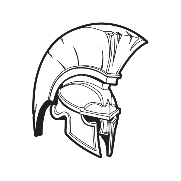 Greek helmet at getdrawings. Odst drawing art graphic transparent library