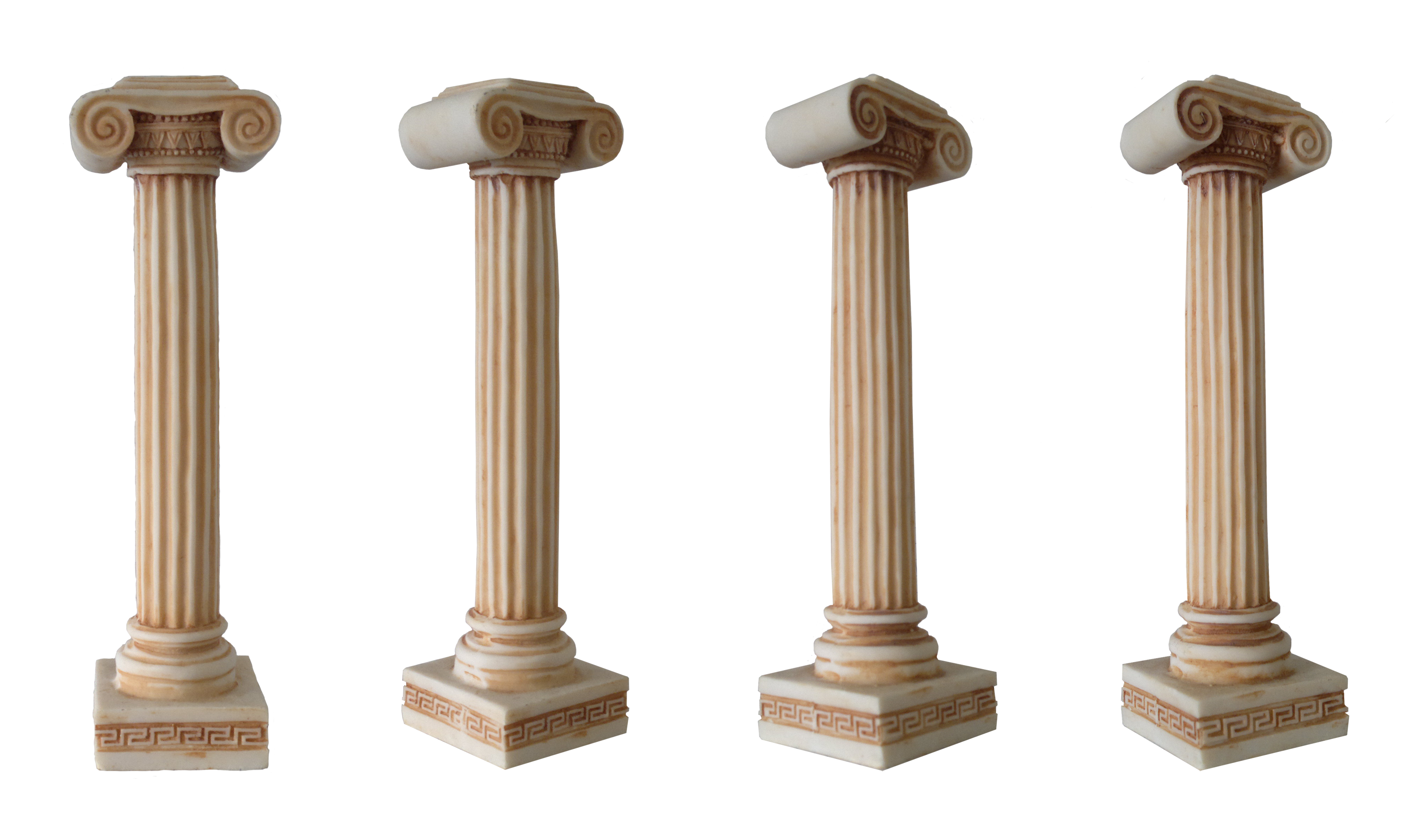 pillar transparent stone