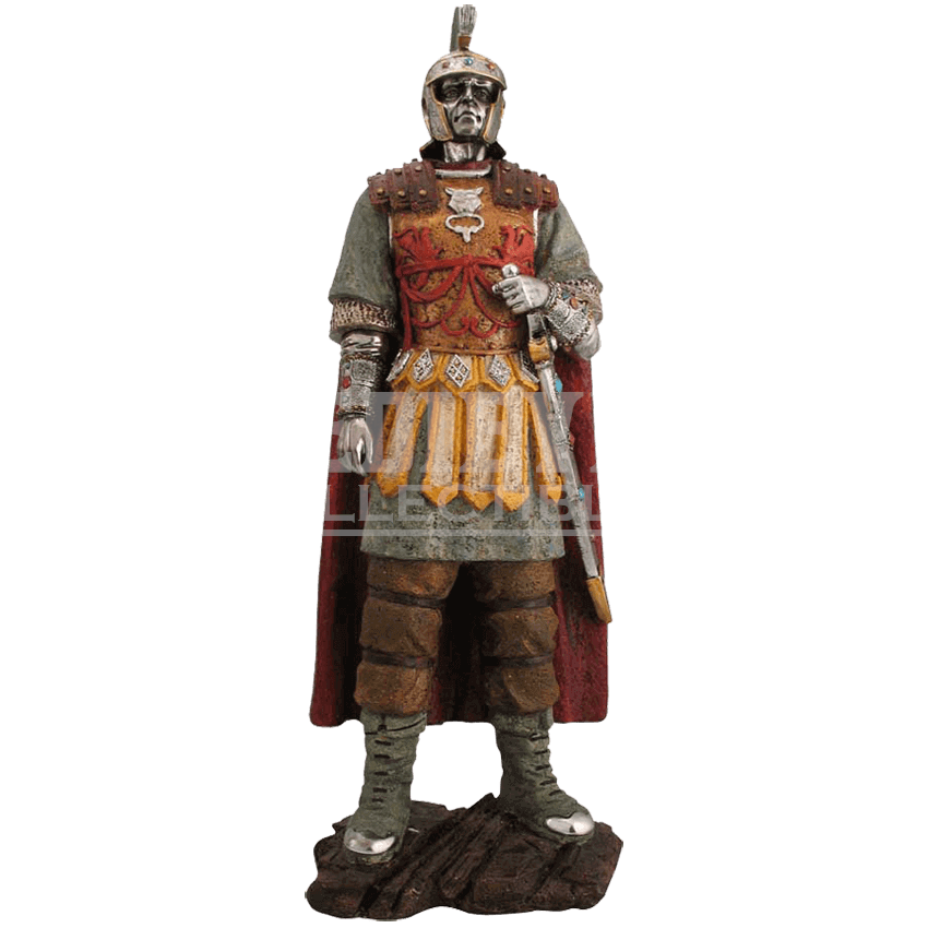 Roman soldier png. Statue ed by medieval