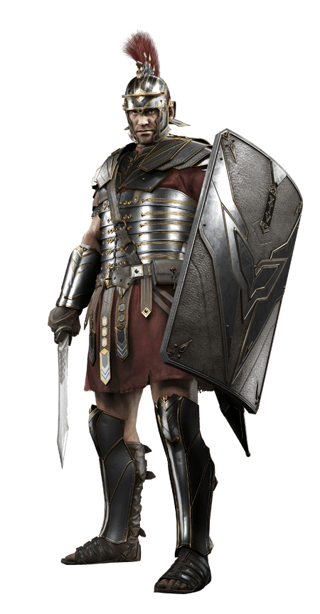 transparent soldier armored