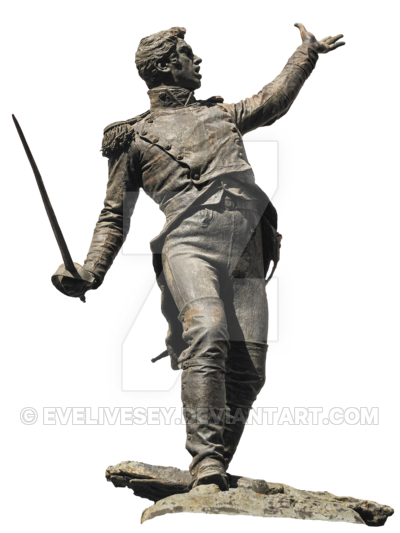 Roman soldier statue png. By evelivesey on deviantart