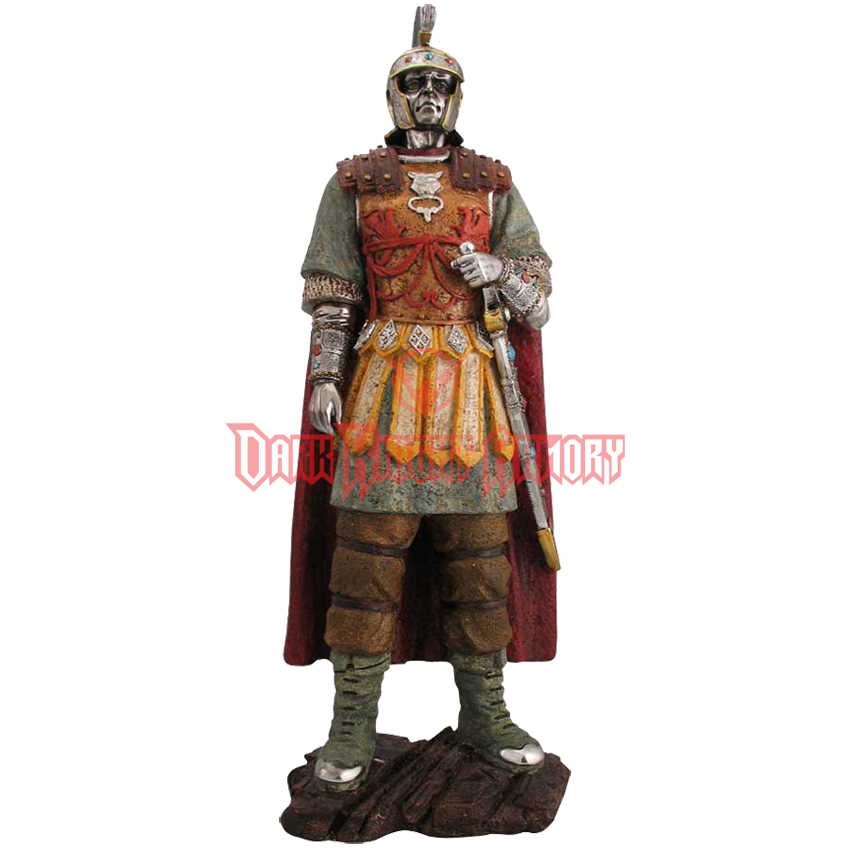 Roman soldier statue png. Ed from dark knight