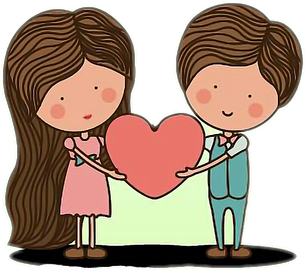 Romantic clip child. Cute love lovely sticker