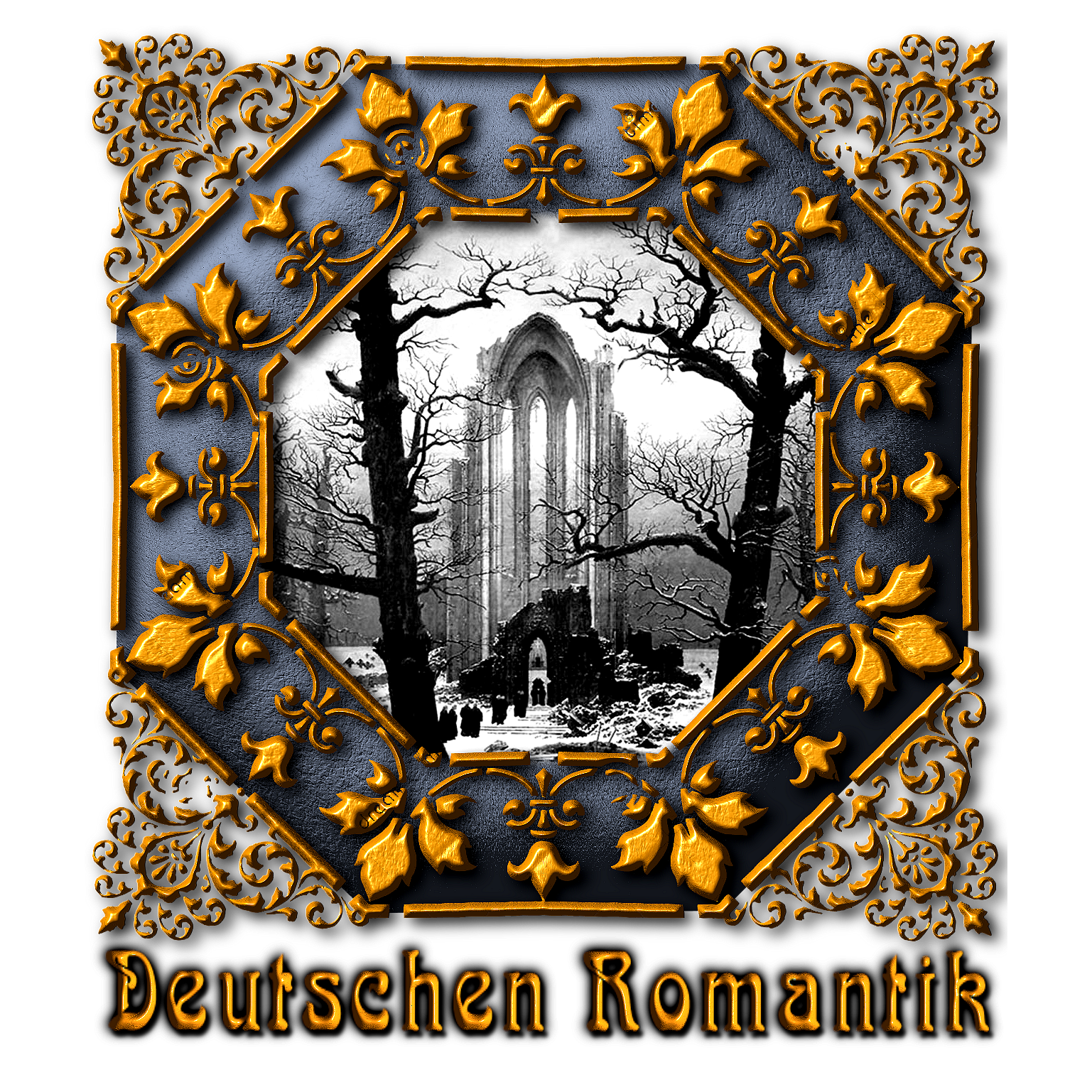 Continental clip german. Germany deutschen romantik romanticism