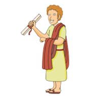 Rome clipart animated. Roman emperor cartoon blueridge