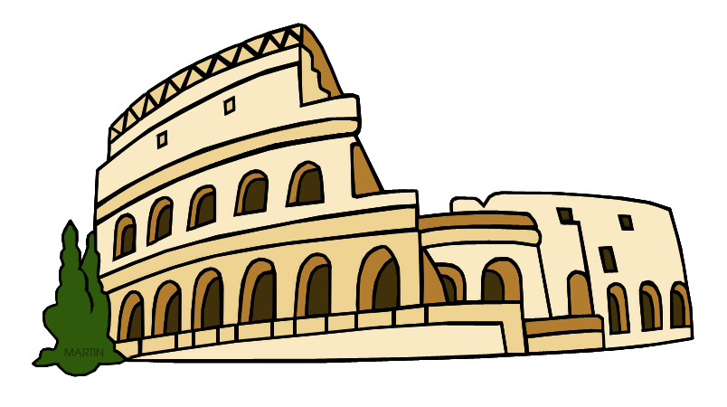 Rome clipart architecture ancient rome. Clip art by phillip