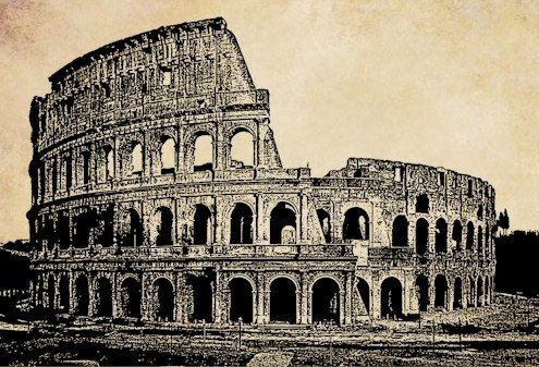 Rome clipart architecture ancient rome. The colosseum italy png