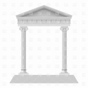 Rome clipart greek pillar. Greece pencil and in